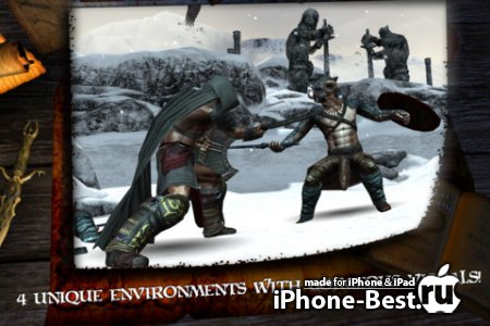 Infinite Warrior [3.1] [ipa/iPhone/iPod Touch/iPad]