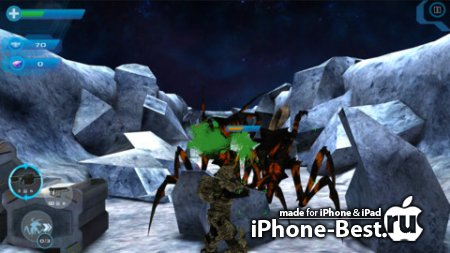 "Starship Troopers: Invasion ""Mobile Infantry"" [1.3] [ipa/iPhone/iPod Touch/iPad]"
