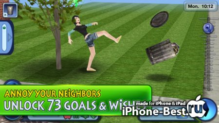 The Sims 3 [1.3.90] [ipa/iPhone/iPod Touch]