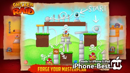 Chicken Raid [1.2] [ipa/iPhone/iPod Touch]