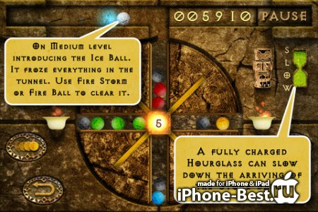 Aztec Magic Ball – The puzzle adventure for iPhone [2.2] [ipa/iPhone/iPod Touch]