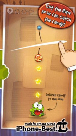 Cut the Rope [2.3.1] [ipa/iPhone/iPod Touch]