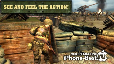 Frontline Commando: D-Day [0.3.0] [ipa/iPhone/iPod Touch/iPad]