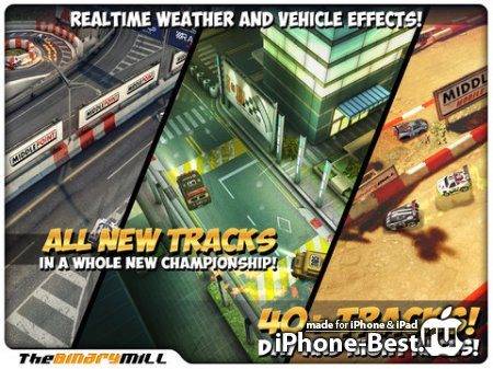 Mini Motor Racing HD [1.7.6] [ipa/iPad]