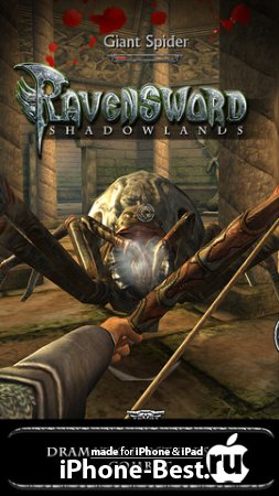 Ravensword: Shadowlands [1.1] [ipa/iPhone/iPod Touch/iPad]