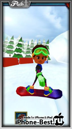Snow Racer Friends [1.0.2] [ipa/iPhone/iPod Touch/iPad]