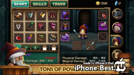 Tiny Legends: Heroes [1.3.2] [ipa/iPhone/iPod Touch/iPad]