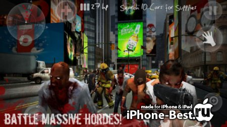 N.Y.Zombies 2 [1.2.1] [ipa/iPhone/iPod Touch/iPad]