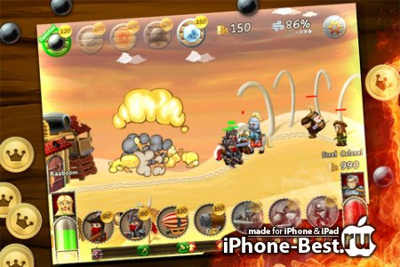 Wars Online – Defend Your Kingdom [1.3] [ipa/iPhone/iPod Touch/iPad]
