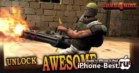 Guns 4 Hire [1.4] [ipa/iPhone/iPod Touch/iPad]