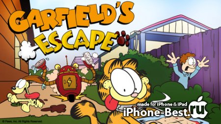Garfield's Escape [1.0.1] [ipa/iPhone/iPod Touch/iPad]