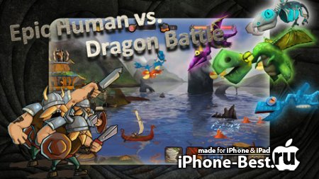 Vikings vs Dragons [2.0.3] [ipa/iPhone/iPod Touch]