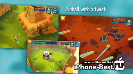 Momonga Pinball Adventures [1.1] [ipa/iPhone/iPod Touch/iPad]