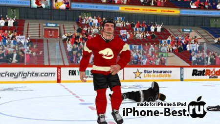 Hockey Fight Pro [1.63] [ipa/iPhone/iPod Touch/iPad]