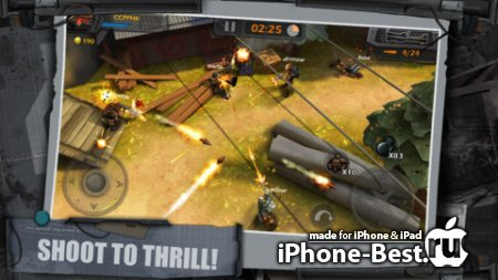 WarCom: Shootout [1.1.2] [ipa/iPhone/iPod Touch/iPad]
