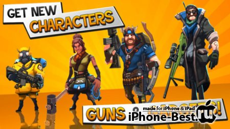 RAD Soldiers [1.0.9] [ipa/iPhone/iPod Touch/iPad]