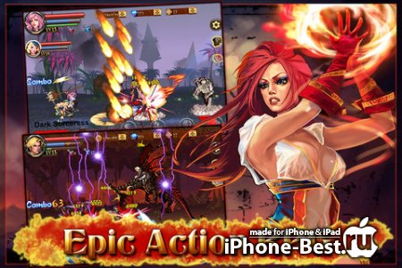 Sword of Inferno [1.02.00] [ipa/iPhone/iPod Touch/iPad]