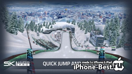 Ski Jumping Pro [1.2.0] [ipa/iPhone/iPod Touch/iPad]