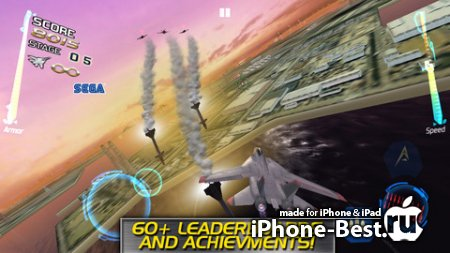 After Burner Climax [1.1] [ipa/iPhone/iPod Touch/iPad]