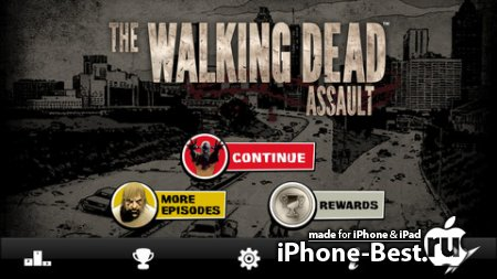 The Walking Dead: Assault [1.1.4] [ipa/iPhone/iPod Touch/iPad]