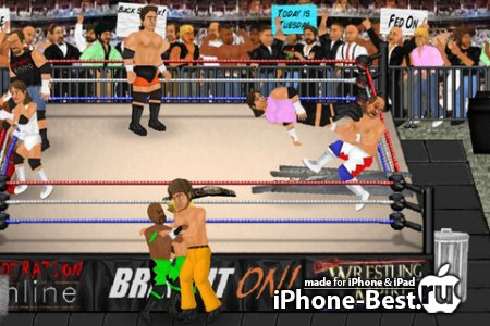Wrestling Revolution (Pro) [1.36] [ipa/iPhone/iPod Touch/iPad]