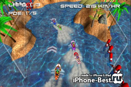 Boat Rush ( 3D Racing Games ) [1.0] [ipa/iPhone/iPod Touch/iPad]