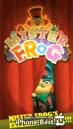 Mister Frog! [1.0.3] [ipa/iPhone/iPod Touch/iPad]
