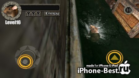 Sewer Rat Run 3D! Plus [1.0] [ipa/iPhone/iPod Touch/iPad]