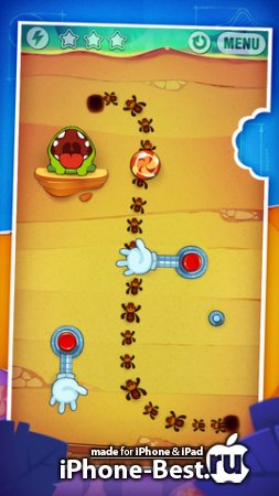Cut the Rope: Experiments [1.7.1] [ipa/iPhone/iPod Touch]