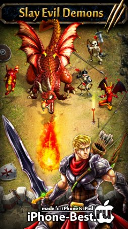 Demon Assault [1.0.2] [ipa/iPhone/iPod Touch/iPad]
