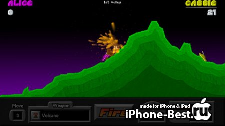Pocket Tanks Deluxe [1.91] [ipa/iPhone/iPod Touch/iPad]