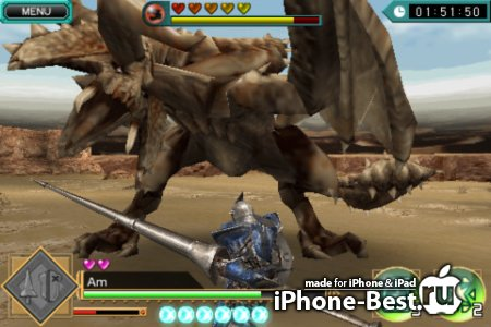 MONSTER HUNTER Dynamic Hunting [1.03.01] [ipa/iPhone/iPod Touch/iPad]