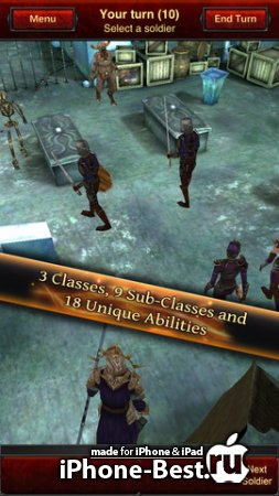 Battle Dungeon: Risen [1.1] [ipa/iPhone/iPod Touch/iPad]