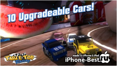 TABLE TOP RACING [1.0.5] [ipa/iPhone/iPod Touch/iPad]