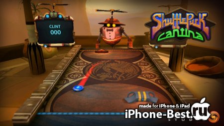 Shufflepuck Cantina GOLD [1.2] [ipa/iPhone/iPod Touch/iPad]