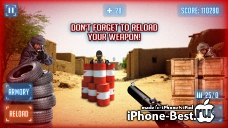 Modern Battlefield AR Shooter [1.2] [ipa/iPhone/iPod Touch/iPad]