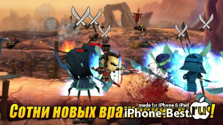 Samurai vs Zombies Defense 2 [2.0.0] [ipa/iPhone/iPod Touch/iPad]
