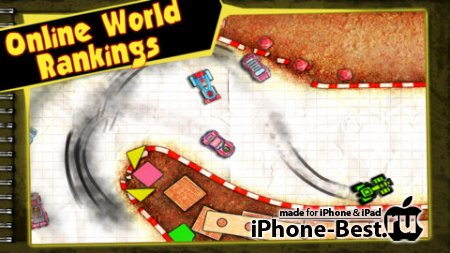 Paper Racer [1.2.1] [ipa/iPhone/iPod Touch/iPad]