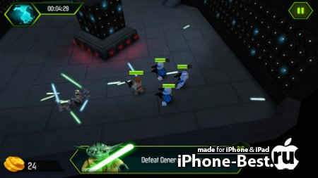LEGO® STAR WARS™ THE YODA CHRONICLES [1.1] [ipa/iPhone/iPod Touch/iPad]
