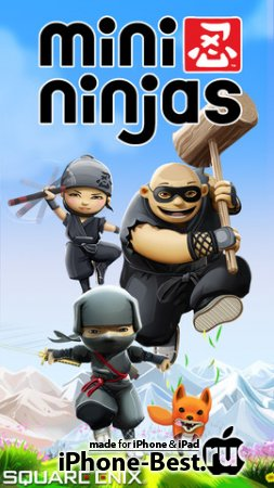 Mini Ninjas [2.0.1] [ipa/iPhone/iPod Touch/iPad]