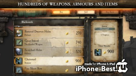 Warhammer Quest [1.27] [ipa/iPhone/iPod Touch/iPad]