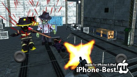 Area 51 Zombie Infestation HD Full Version [1.0] [ipa/iPhone/iPod Touch/iPad]