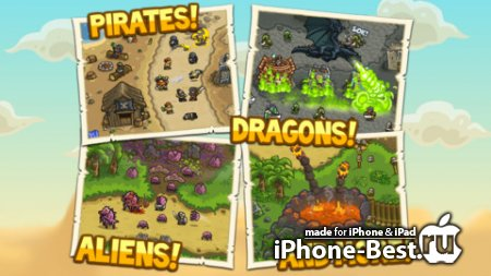Kingdom Rush Frontiers [1.1] [ipa/iPhone/iPod Touch]