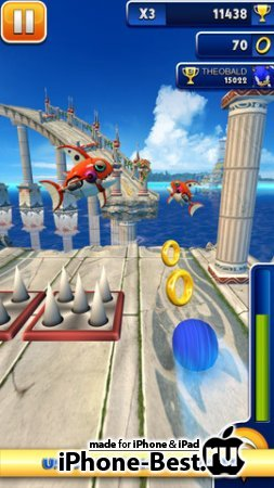 Sonic Dash [1.11.1] [ipa/iPhone/iPod Touch/iPad]