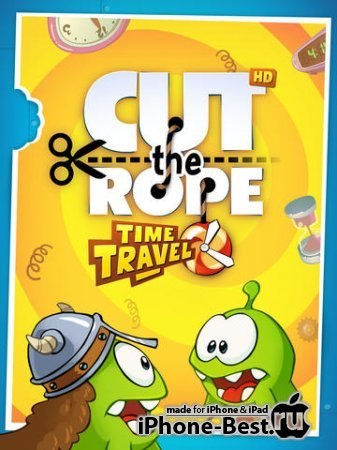 Cut the Rope: Time Travel HD [1.3.2] [ipa/iPad]