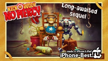 Kick the Buddy: No Mercy [1.10] [ipa/iPhone/iPod Touch]