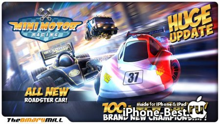 Mini Motor Racing [1.7.6] [ipa/iPhone/iPod Touch]