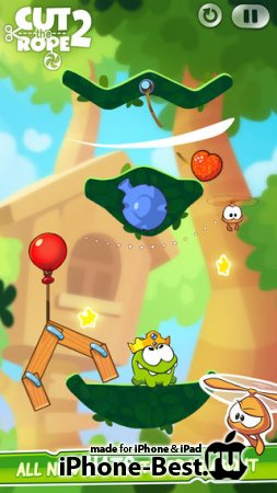 Cut the Rope 2 [1.1] [ipa/iPhone/iPod Touch/iPad]