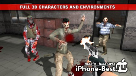 The Dead Town: Walking Zombies [1.1.1] [ipa/iPhone/iPod Touch/iPad]