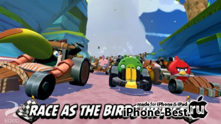 Angry Birds Go! [1.4.0] [ipa/iPhone/iPod Touch/iPad]